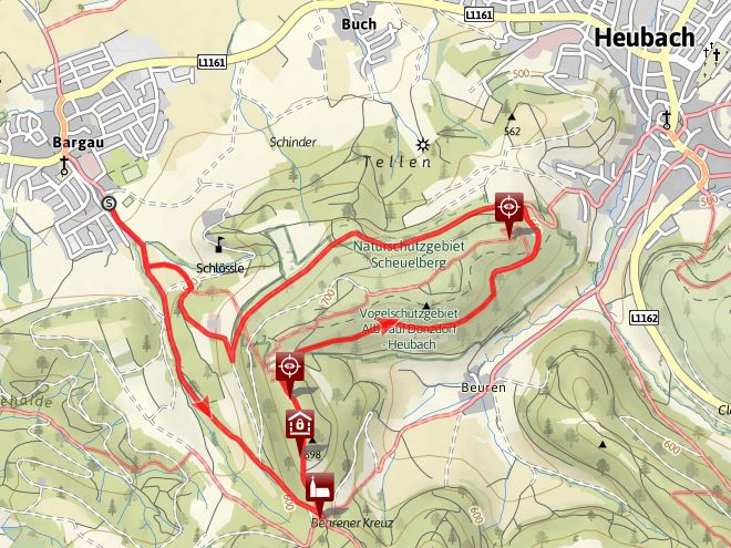 Rund um Himmelreich und Scheuelberg