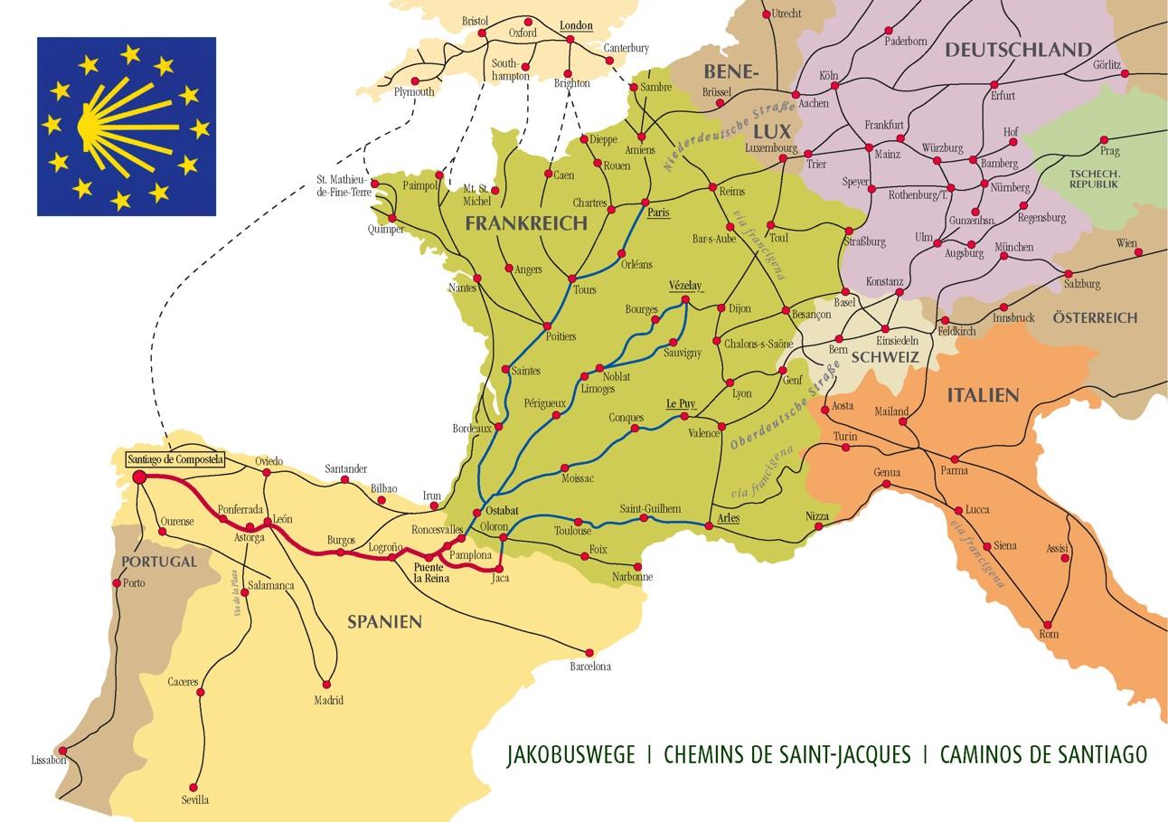Wege durch Europa